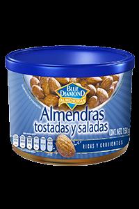 ALMENDRAS TOSTADAS Y SALADAS